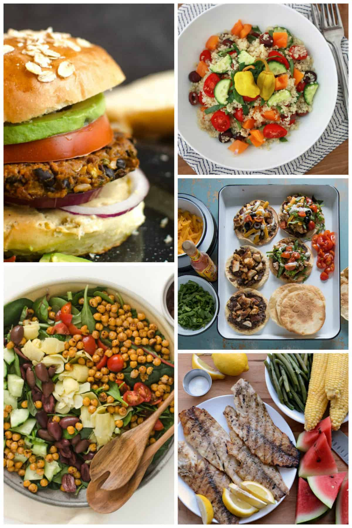 Clean Eating Dinner  Eating Clean Meal Plan Summer Menu — Bless this Mess