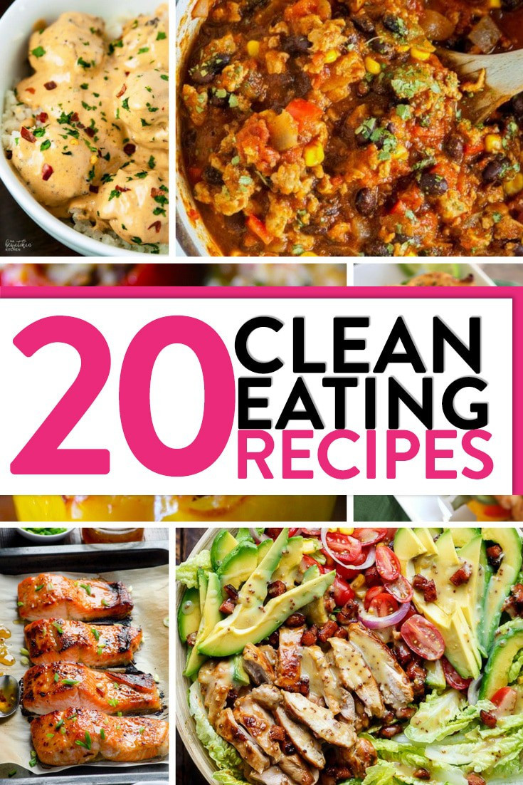 Clean Eating Dinner  20 Clean Eating Recipes to Inspire Dinner Tonight