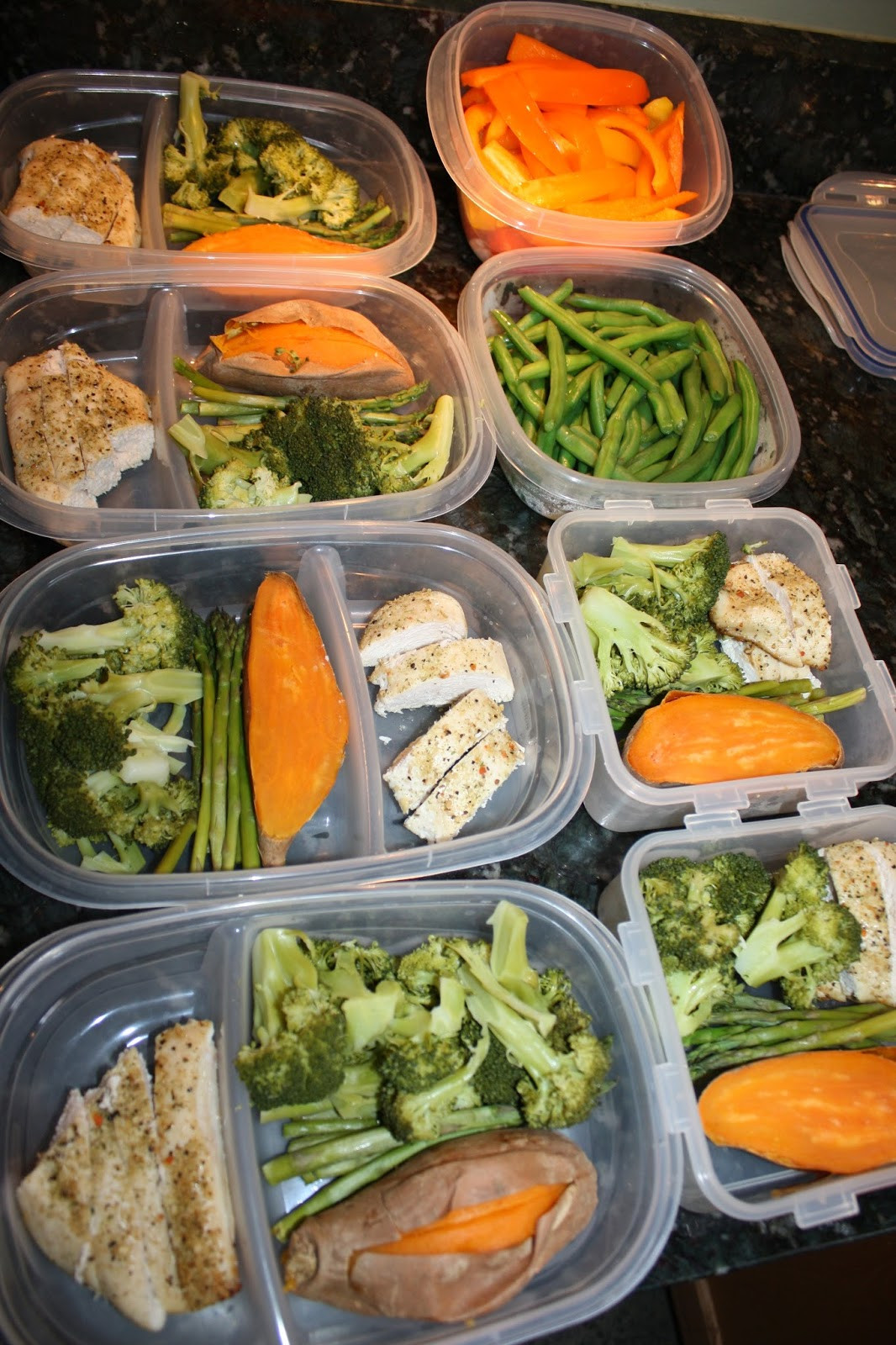 Clean Eating Dinner  Fit & Healthy Mommy Batch Meal Prep Clean Eating