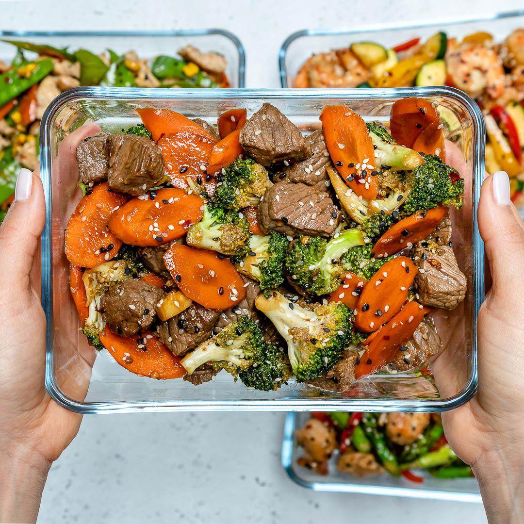 Clean Eating Dinner  Super Easy Beef Stir Fry for Clean Eating Meal Prep