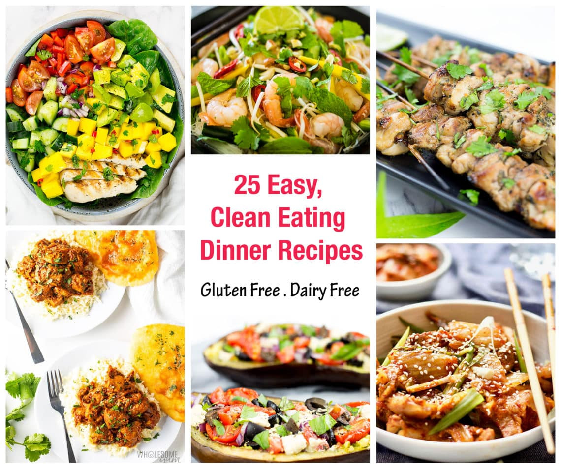 Clean Eating Dinner  25 Clean Eating Dinner Recipes Love Food Nourish