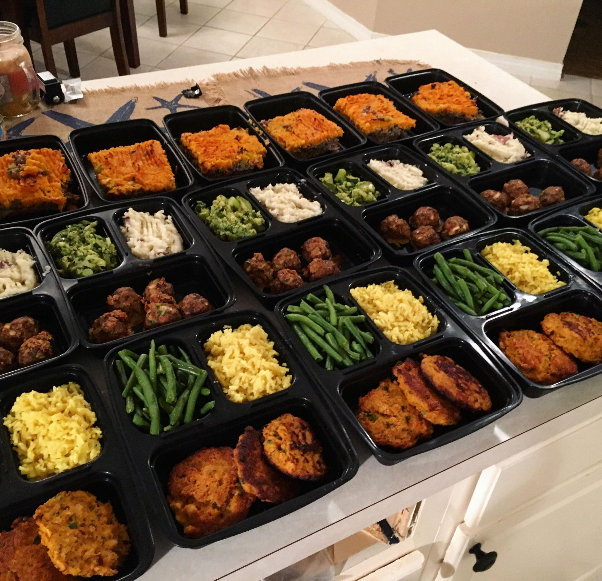 Clean Eating Dinner  This week s clean eating meal prep for the boyfriend and