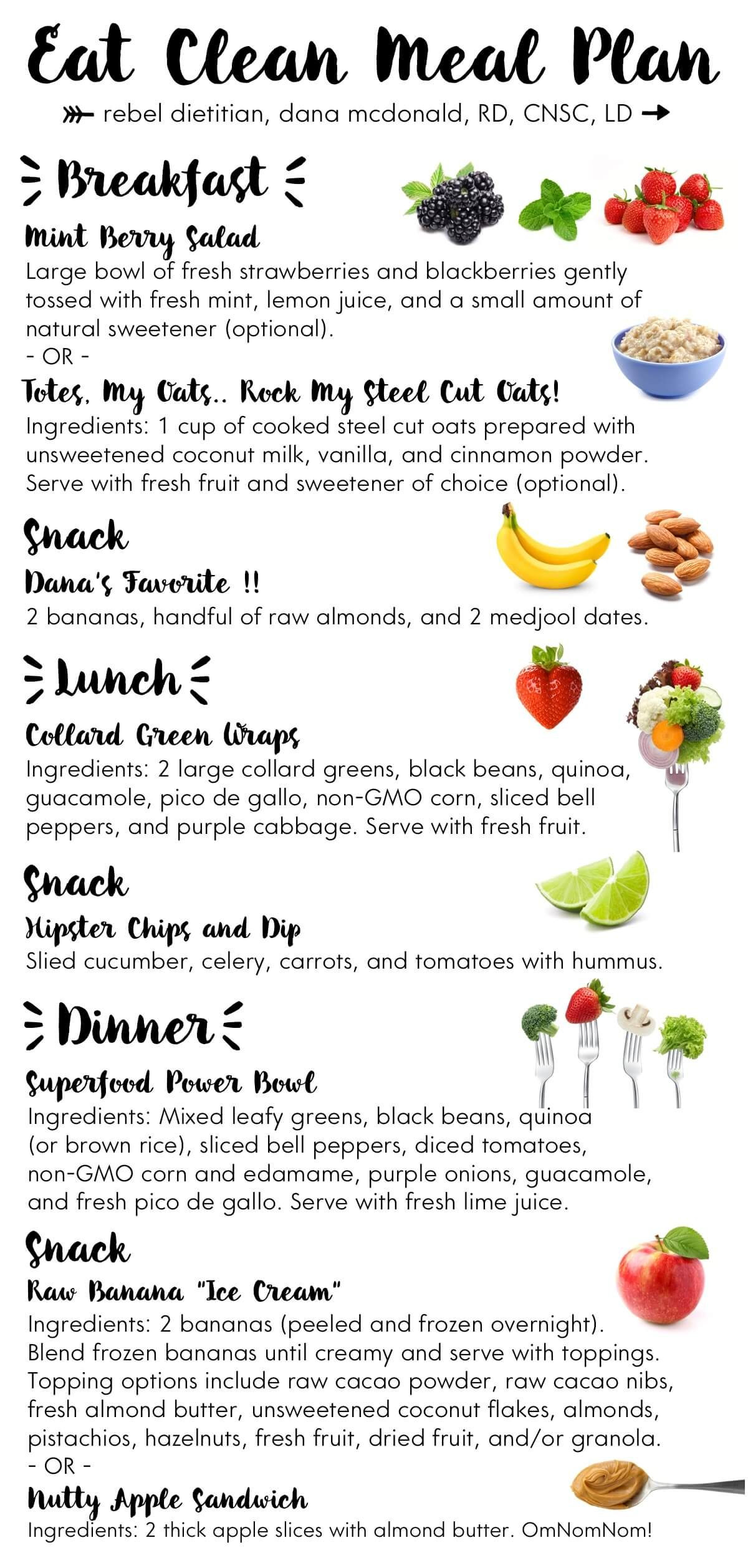 Clean Eating Meal Plans On A Budget  Meal Planning