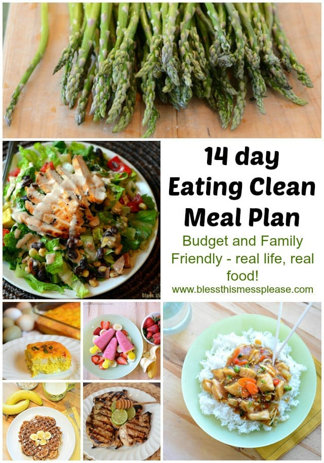 Clean Eating Meal Plans On A Budget  24 Ideas for Clean Eating Meal Plans A Bud Best
