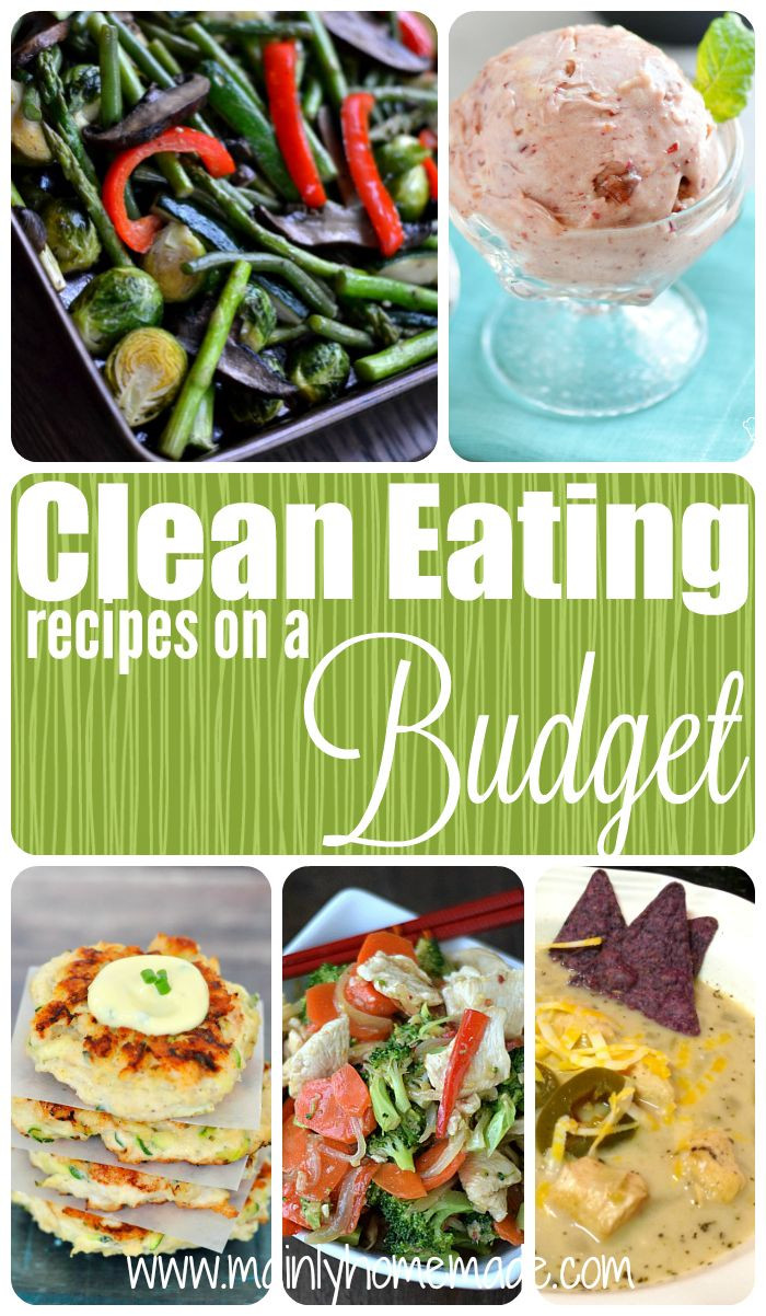 Clean Eating Meal Plans On A Budget  Clean Eating Recipes on a Bud