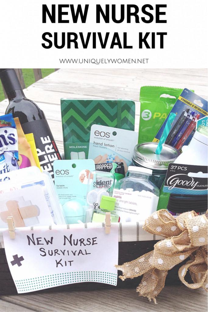 College Graduation Gift Ideas For Nurses  DIY New Nurse Survival Kit
