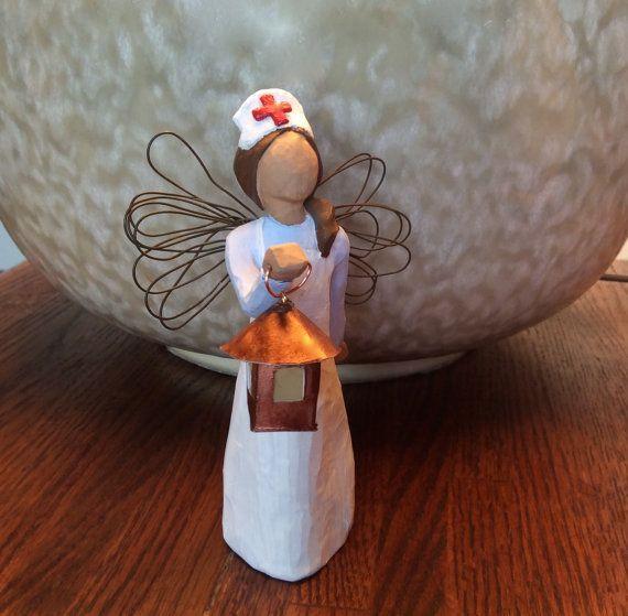 College Graduation Gift Ideas For Nurses  Nurse RN Gift Florence Nightingale w Lantern and Silver