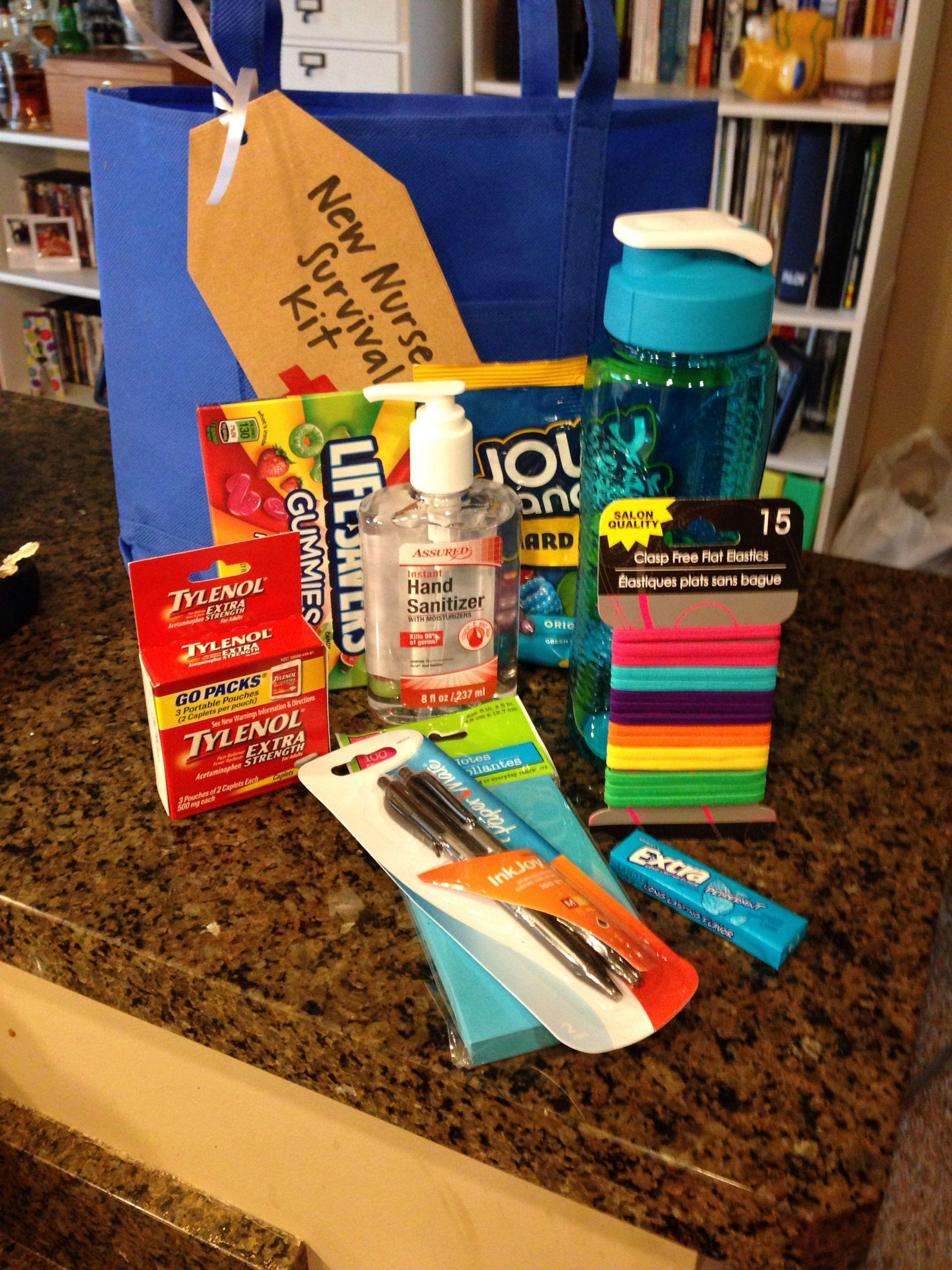 College Graduation Gift Ideas For Nurses  New Nurse Survival Kit