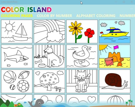 Coloring Apps For Kids  8 Windows 10 Coloring Pages Apps for Kids