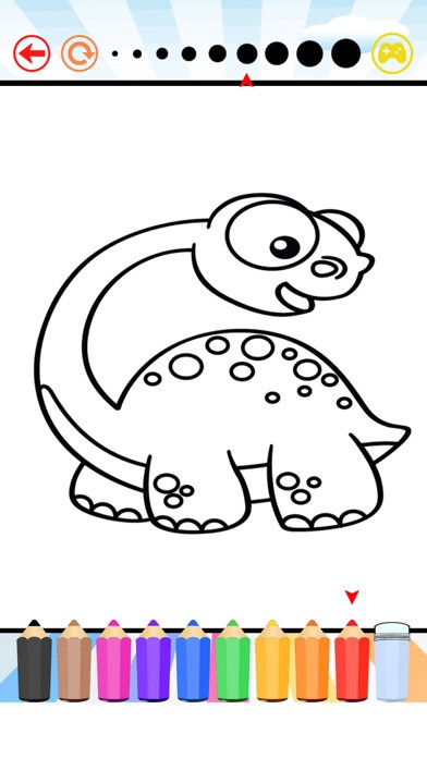 Coloring Apps For Kids  Dinosaur Coloring Book All Pages Free For Kids HD App