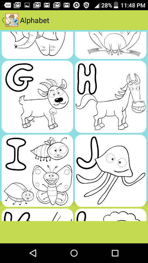 Coloring Apps For Kids  Coloring Pages for Kids Free Android Apps on Google Play