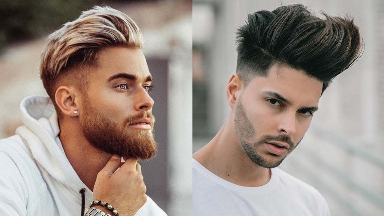 Cool Boys Hairstyles 2020  Cool Short Hairstyles For Men 2020