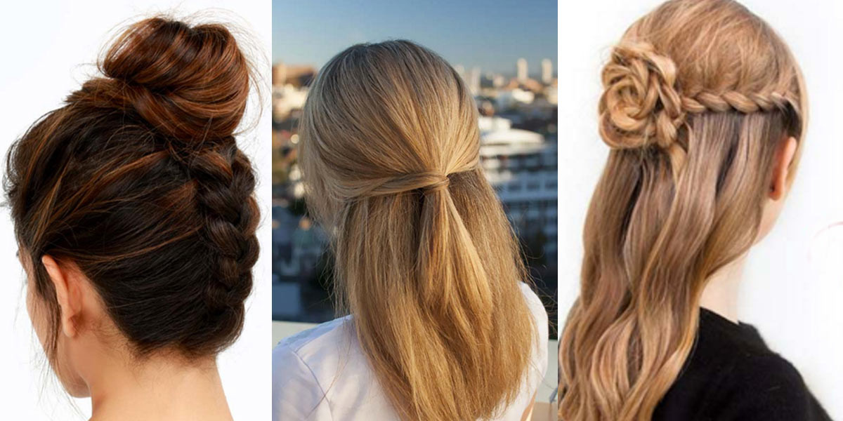 Cool Easy Hairstyles  41 DIY Cool Easy Hairstyles That Real People Can Do at
