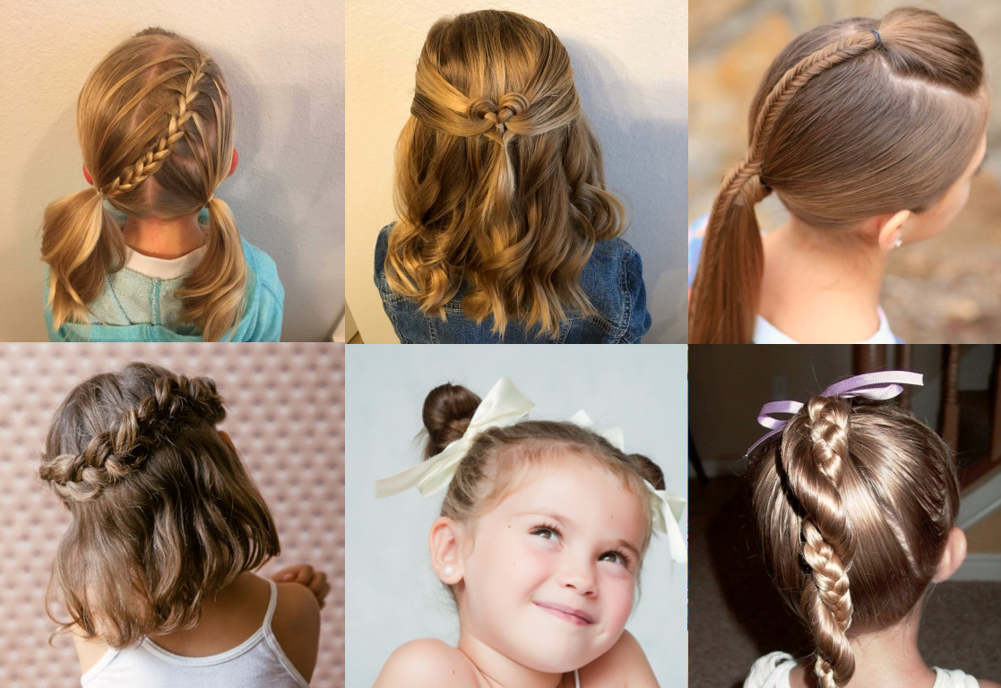 Cool Hairstyles For Little Girl  8 Cool Hairstyles For Little Girls That Won t Take Too