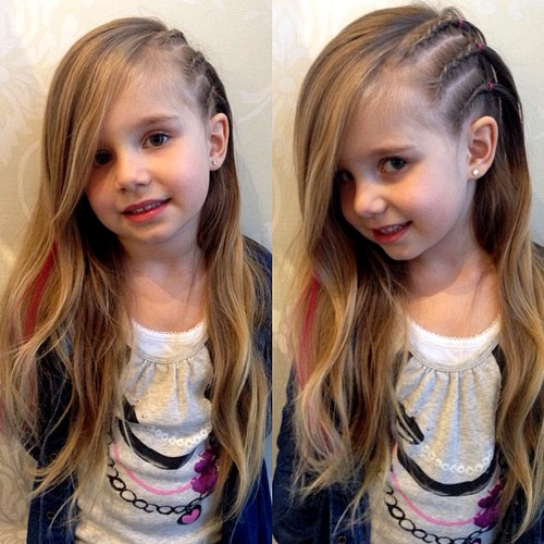 Cool Hairstyles For Little Girl  40 Cool Hairstyles for Little Girls on Any Occasion