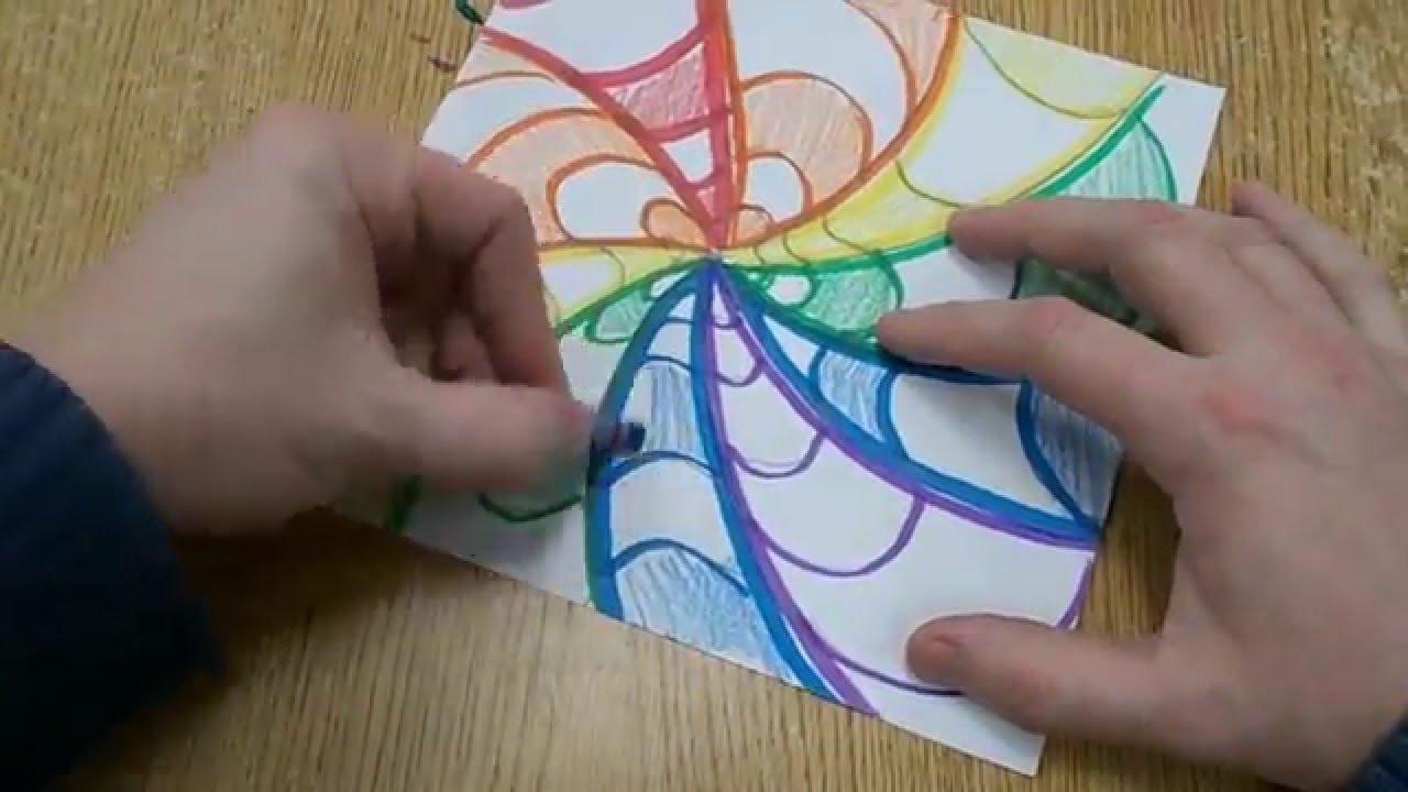 Cool Kids Art  Easy Op Art Design for Kids
