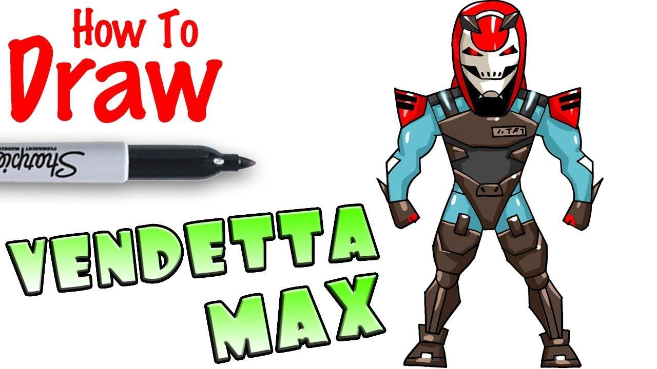 Cool Kids Art  How to Draw Vendetta Max