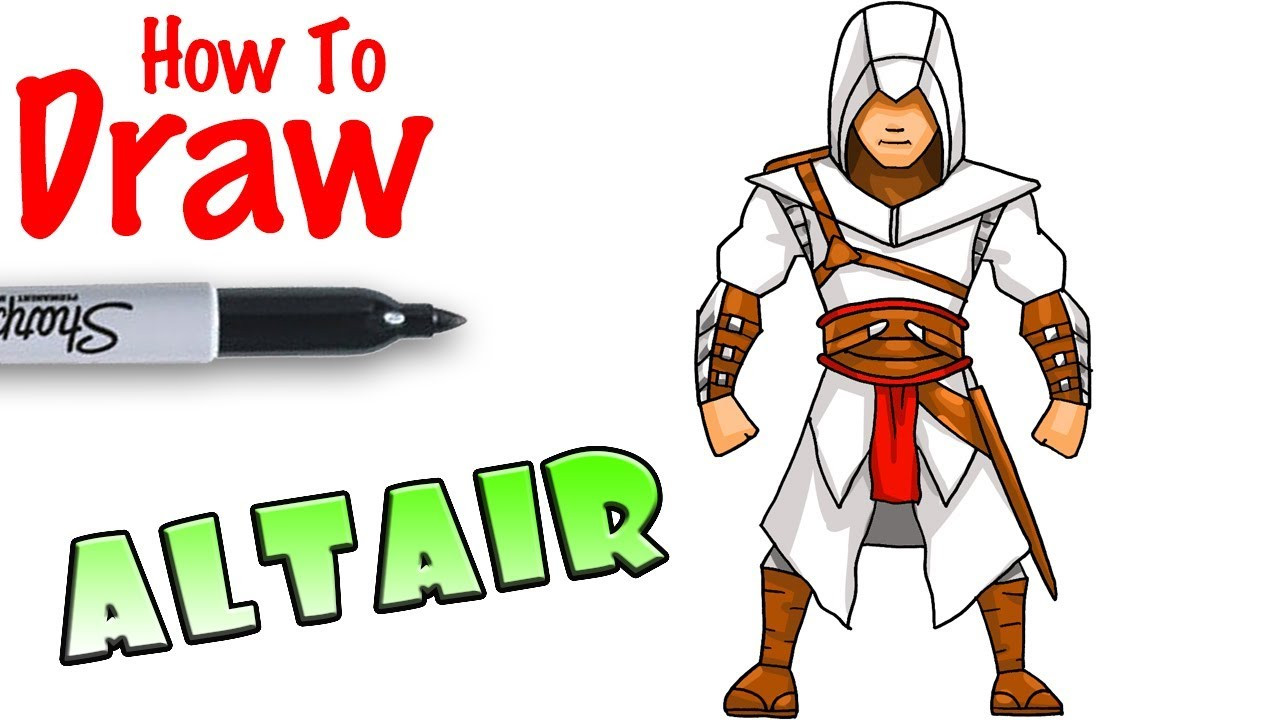 Cool Kids Art  How to Draw Altair