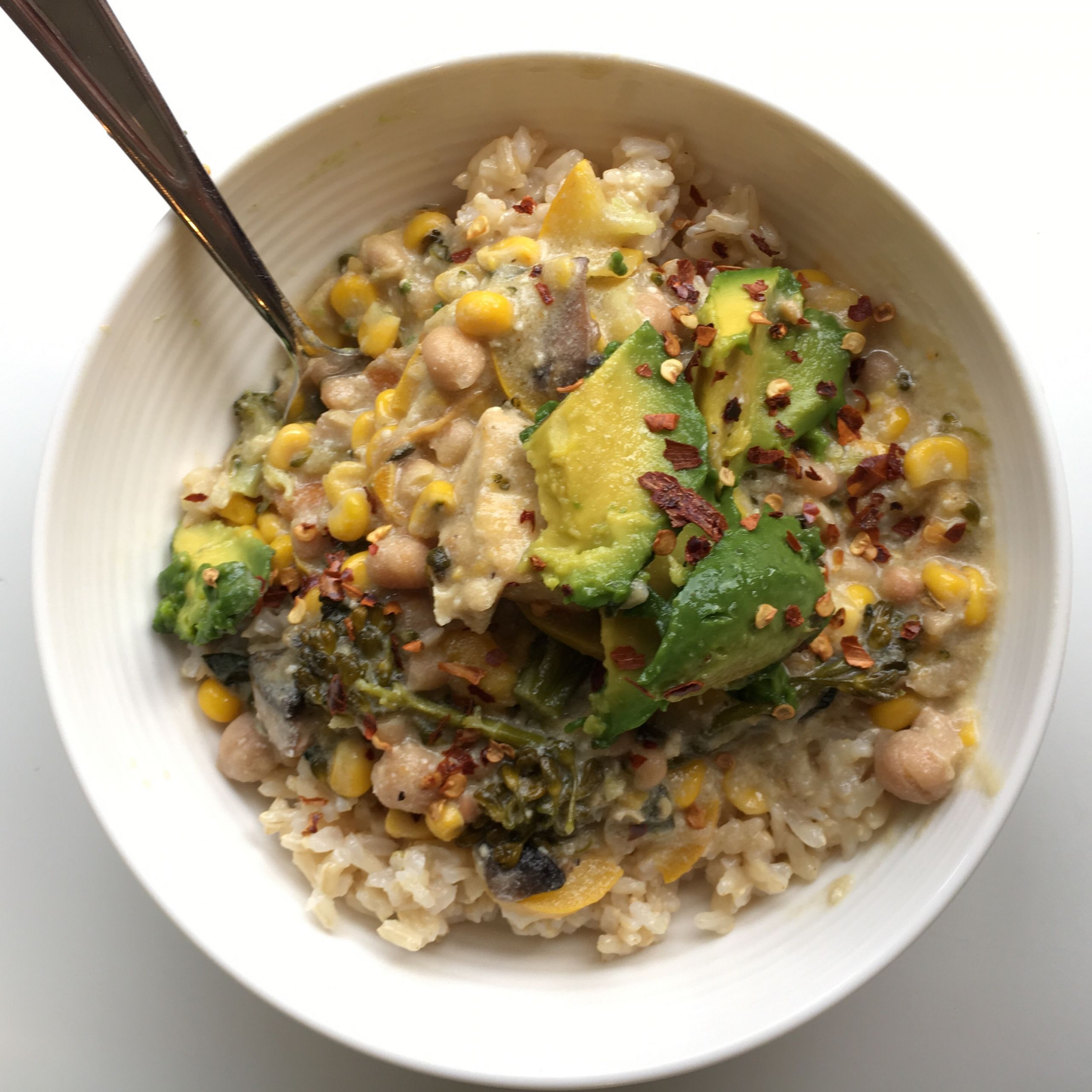 Corn Chowder Vegetarian  ve arian corn chowder