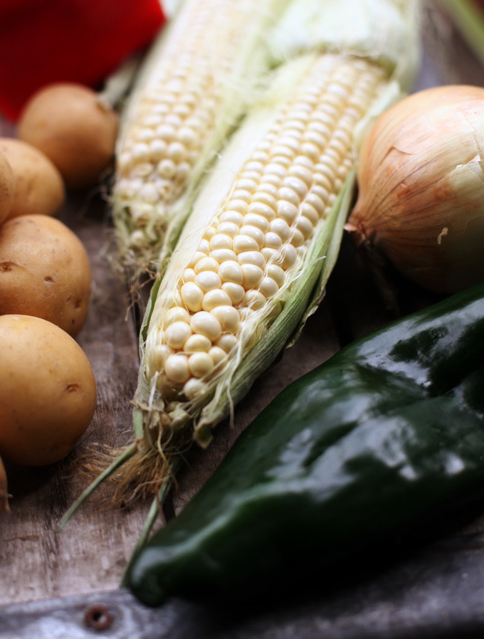 Corn Chowder Vegetarian  Ve arian Corn Chowder Recipe