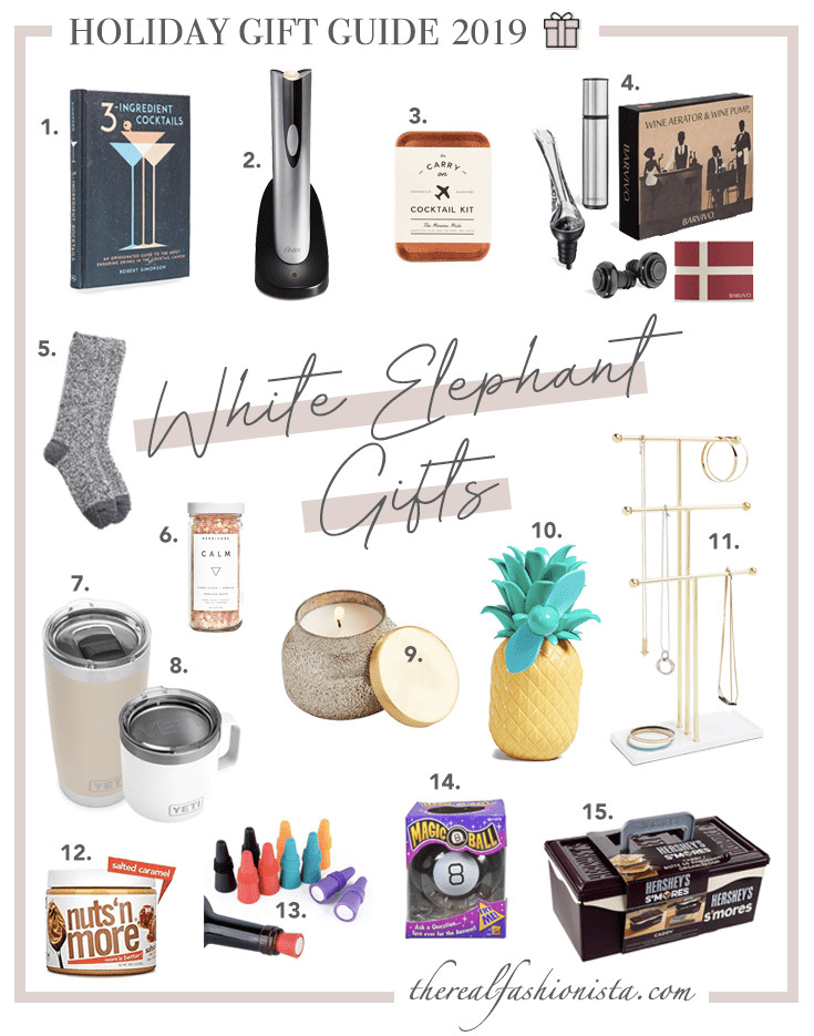 Couples Gift Exchange Ideas  holiday t guide 2019 white elephant t exchange ideas