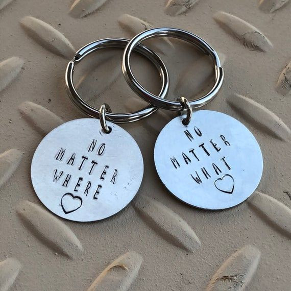 Couples Gift Exchange Ideas  Couples Keychain Couples Anniversary Gifts Couples
