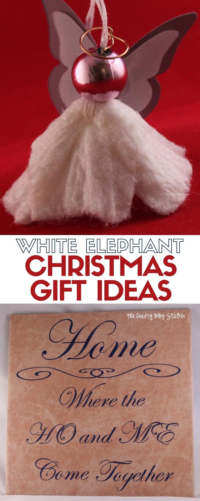 Couples Gift Exchange Ideas  DIY White Elephant Gift Exchange Ideas The Crafty Blog