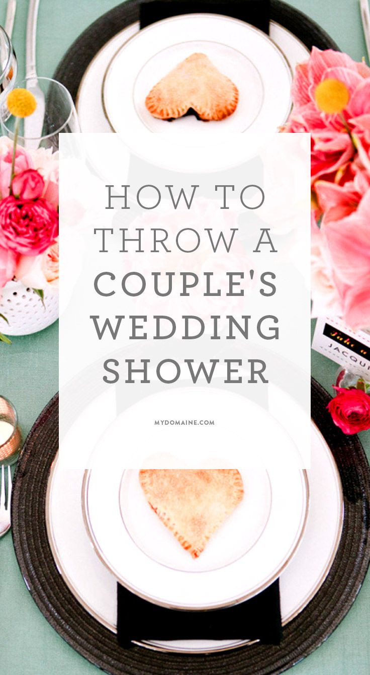 Couples Wedding Shower Ideas Themes  How to Master the Biggest New Trend in Bridal Showers