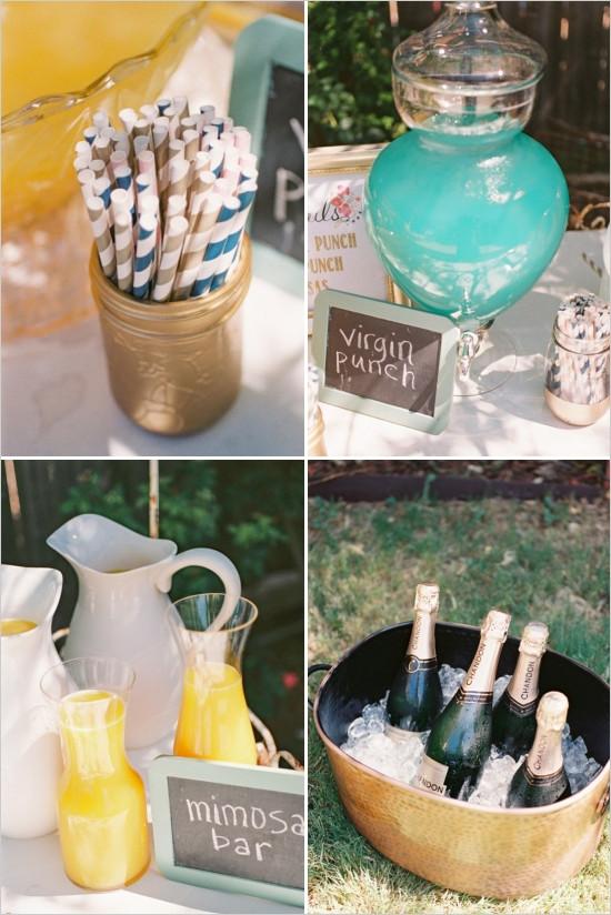 Couples Wedding Shower Ideas Themes  Elegant Outdoor Couple Bridal Shower Bridal Shower Ideas