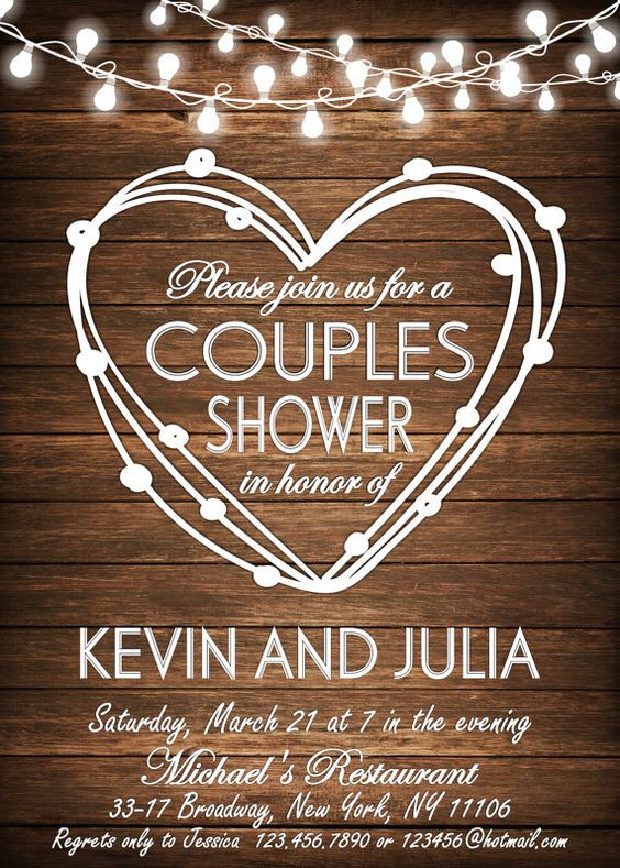 Couples Wedding Shower Ideas Themes  How to Host the Best Couple s Bridal Shower Marrying