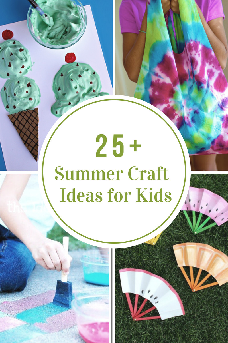 Crafts Ideas For Kids  40 Creative Summer Crafts for Kids That Are Really Fun