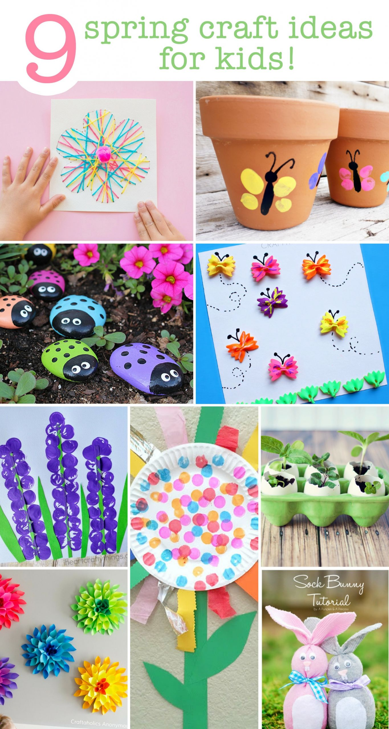 Crafts Ideas For Kids  9 Spring Craft Ideas For The Kids
