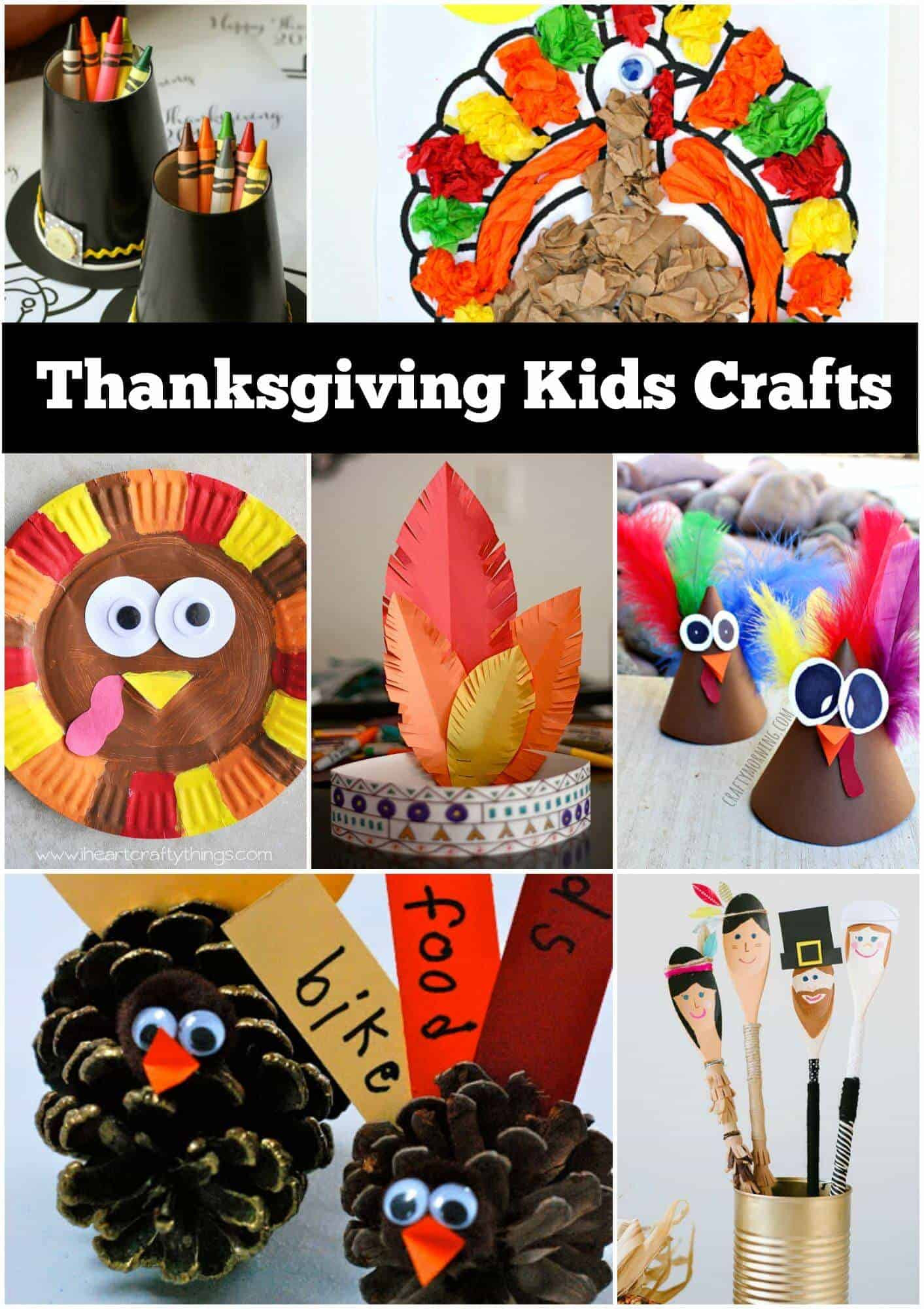 Crafts Ideas For Kids  12 Thanksgiving Craft Ideas for kids Page 2 of 2