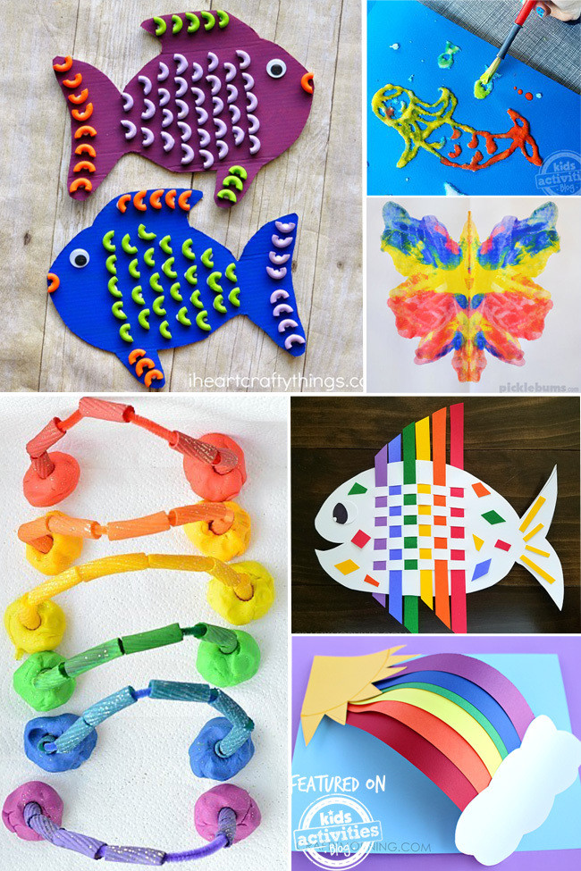 Crafts Ideas For Kids  25 Colorful Kids Craft Ideas