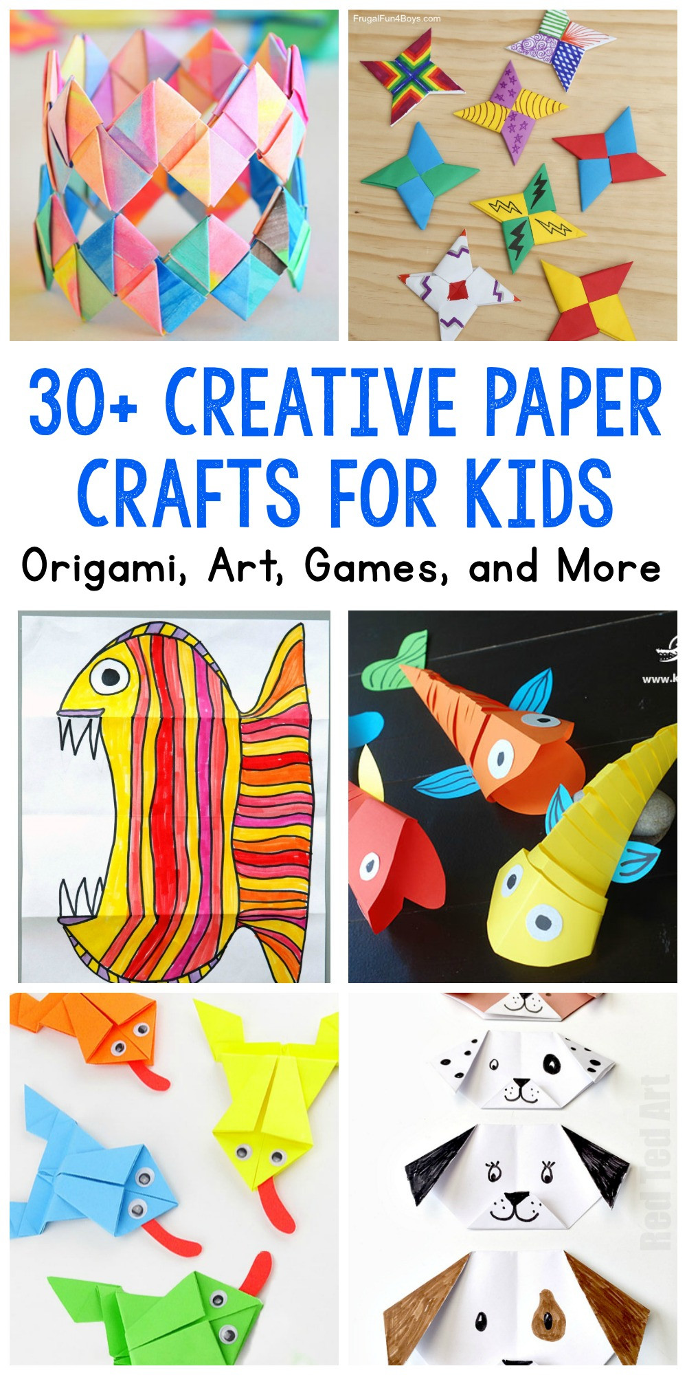 Crafts Ideas For Kids  Paper Crafts for Kids 30 Fun Projects You ll Want to Try
