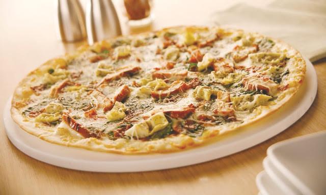 Creamy Garlic Pizza Sauce  Chicken Pizza with Creamy Garlic Sauce Simplify