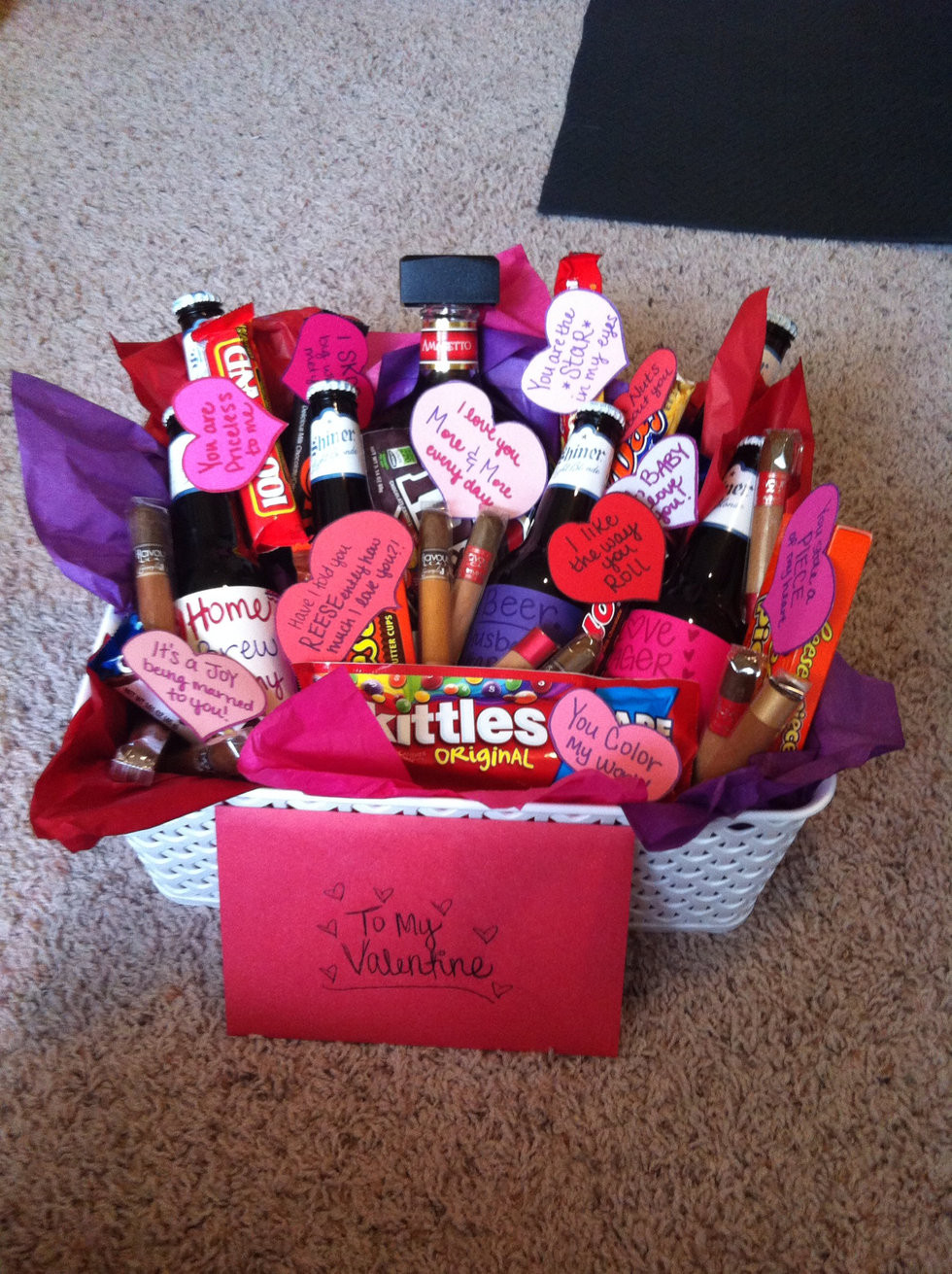 Cute Gift Basket Ideas  6 Things You Should Be Getting Your Boo Valentine s Day