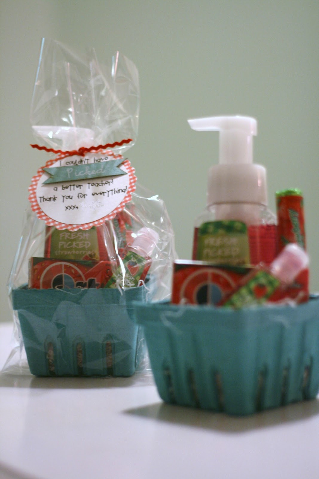 Cute Gift Basket Ideas  Gigi s Thimble Teacher appreciation ts