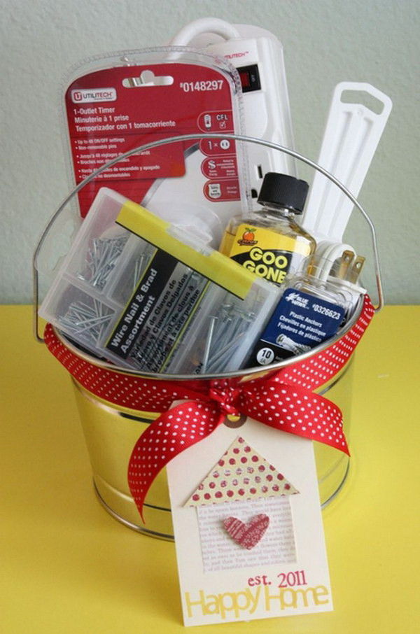 Cute Gift Basket Ideas  35 Creative DIY Gift Basket Ideas for This Holiday Hative