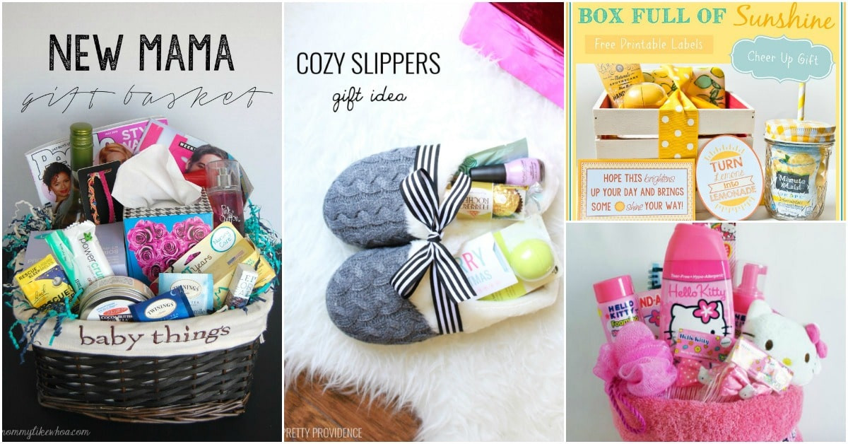Cute Gift Basket Ideas  30 Easy And Affordable DIY Gift Baskets For Every Occasion