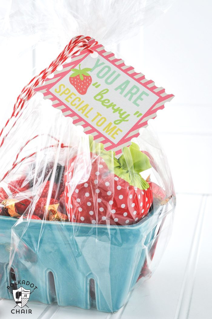 Cute Gift Basket Ideas  Strawberry Gift Basket Ideas the Polka Dot Chair