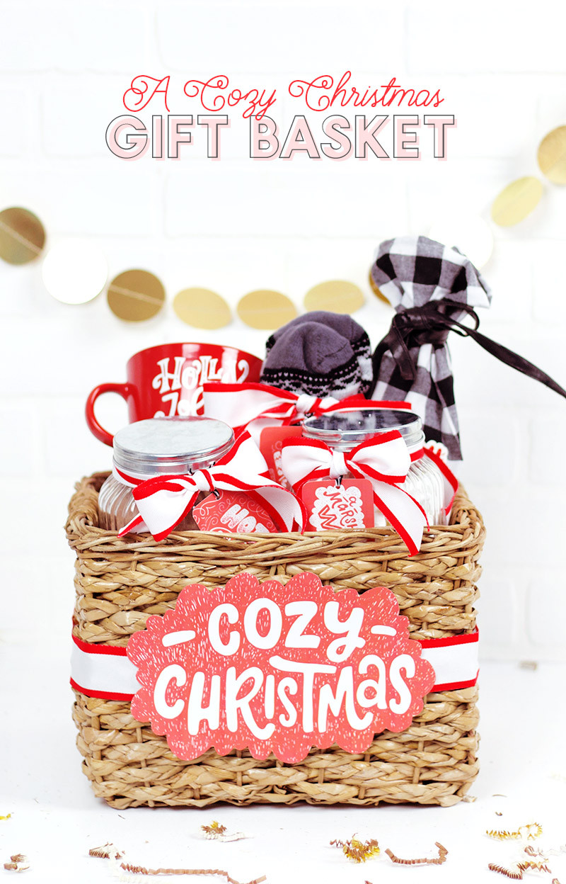 Cute Gift Basket Ideas  A Cozy Christmas A Christmas Gift Basket Idea Persia Lou