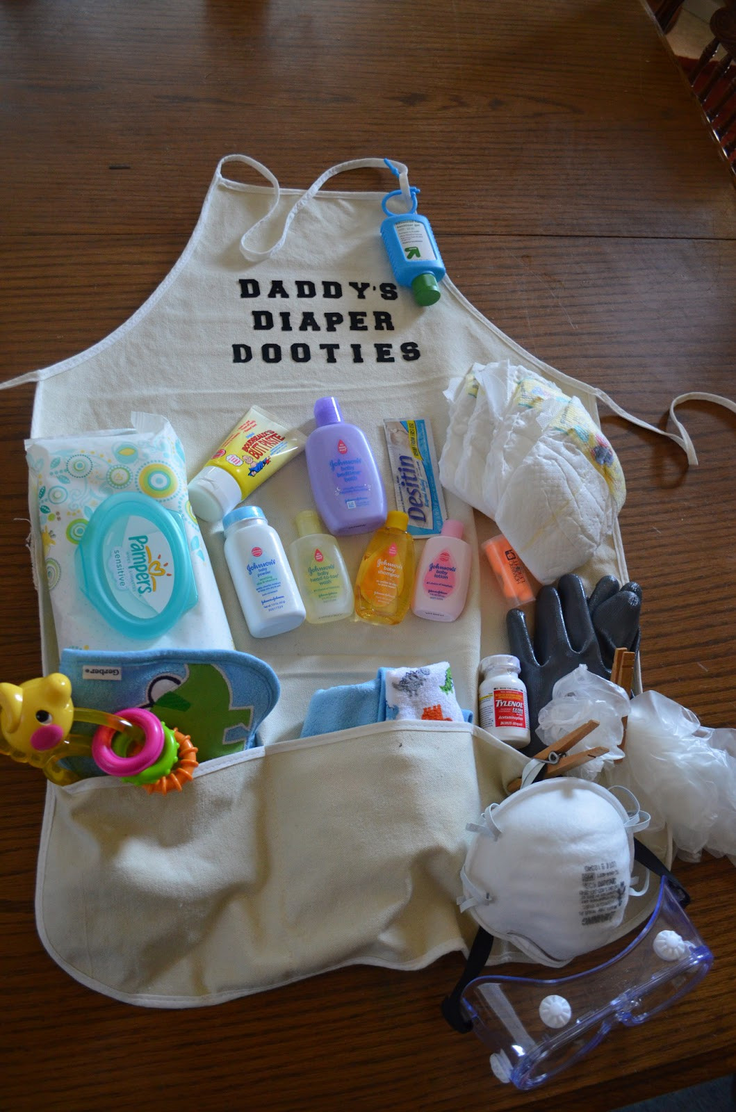 Daddy Baby Shower Gift Ideas  Crafty Mom of 3 Daddy s Diaper Dooties