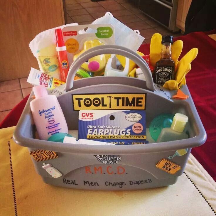 """Daddy Baby Shower Gift Ideas  Definitely gonna remember this for a """"daddy baby shower"""