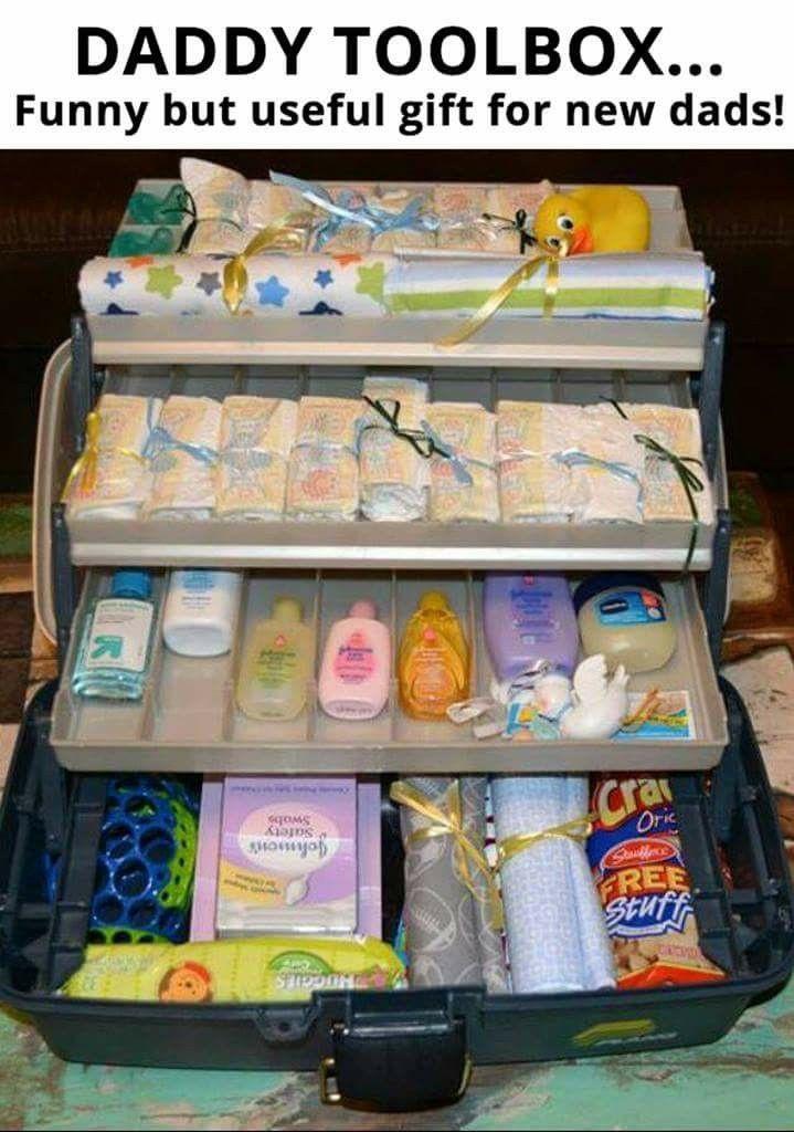 Daddy Baby Shower Gift Ideas  Daddy Tool Box Such a cute idea