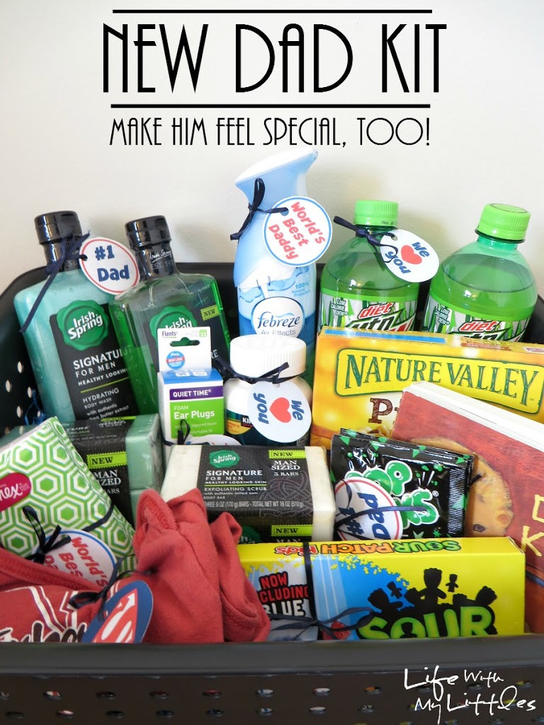 Daddy Baby Shower Gift Ideas  New Dad Kit Life With My Littles