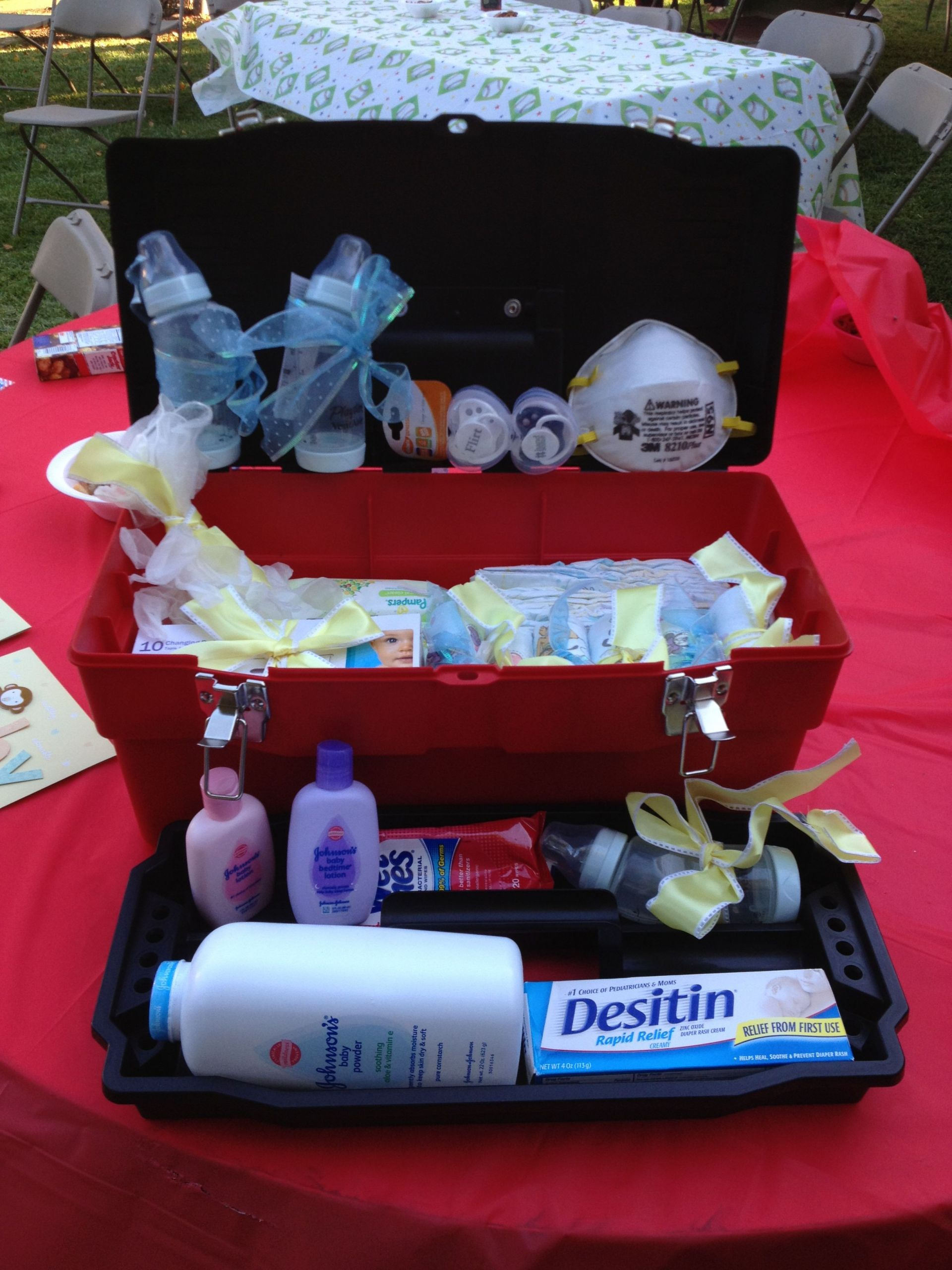 Daddy Baby Shower Gift Ideas  Daddy s Diaper Changing Toolbox