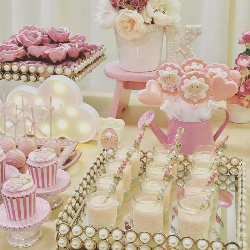 Decorating Ideas For Baby Shower Gift Table  Cloud Unicorn Light for kid boy girl first Birthday Party