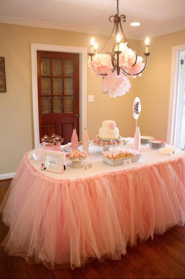 Decorating Ideas For Baby Shower Gift Table  Gorgeous Baby Shower Gift Idea For Mom And Dad And Table