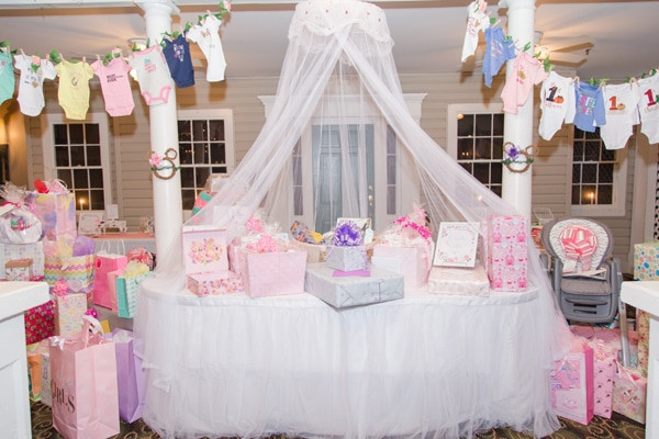 Decorating Ideas For Baby Shower Gift Table  Gorgeous Gorgeous Minnie Mouse Baby Shower Pretty My